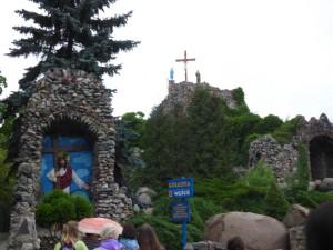 Licheń-droga krzyżowa